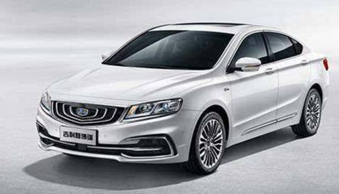 中国品牌b级车--吉利新博瑞全新上市