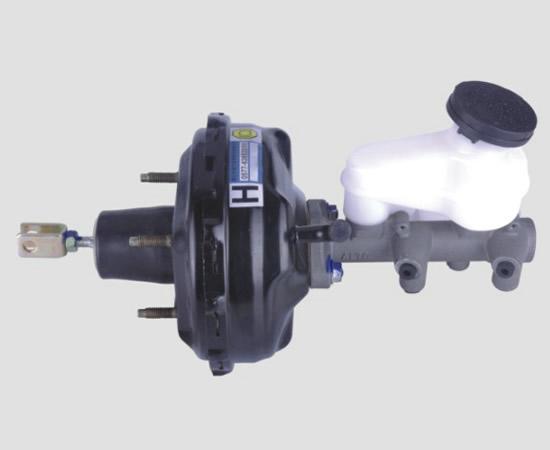 江南奥拓sc7080 真空助力器带刹车总泵总成 汽车配件 转向高清图片