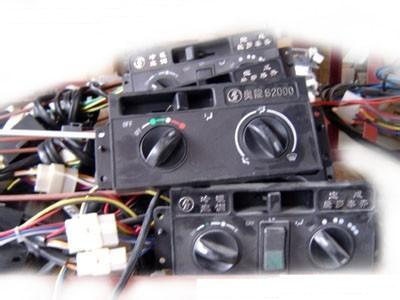 空调控制面板总成wg1630840322|汽车配件|车身及附件
